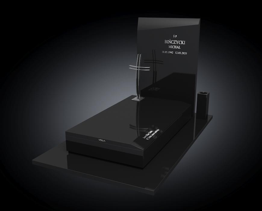 Kolekcja - Nagrobki nowoczesne / model 001