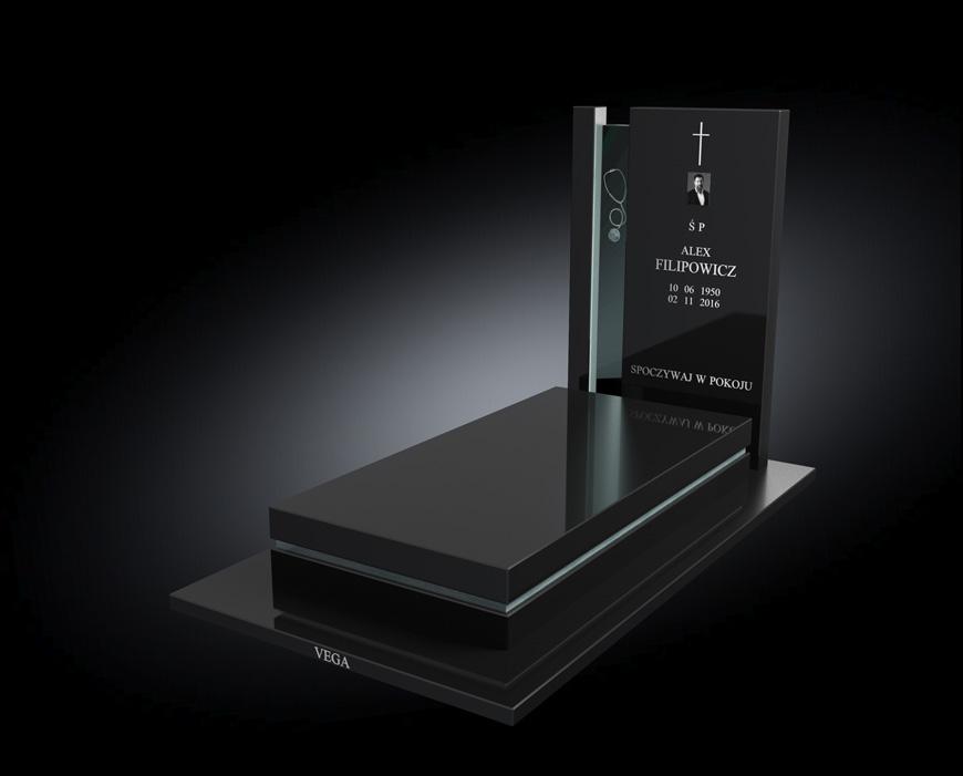 Kolekcja - Nagrobki nowoczesne / model 012