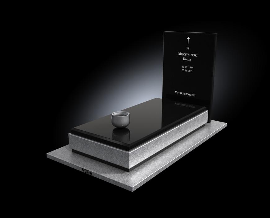 Kolekcja - Nagrobki nowoczesne / model 013