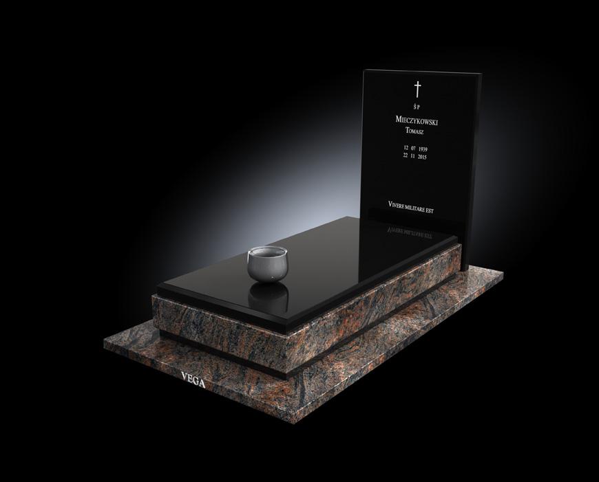 Kolekcja - Nagrobki nowoczesne / model 014