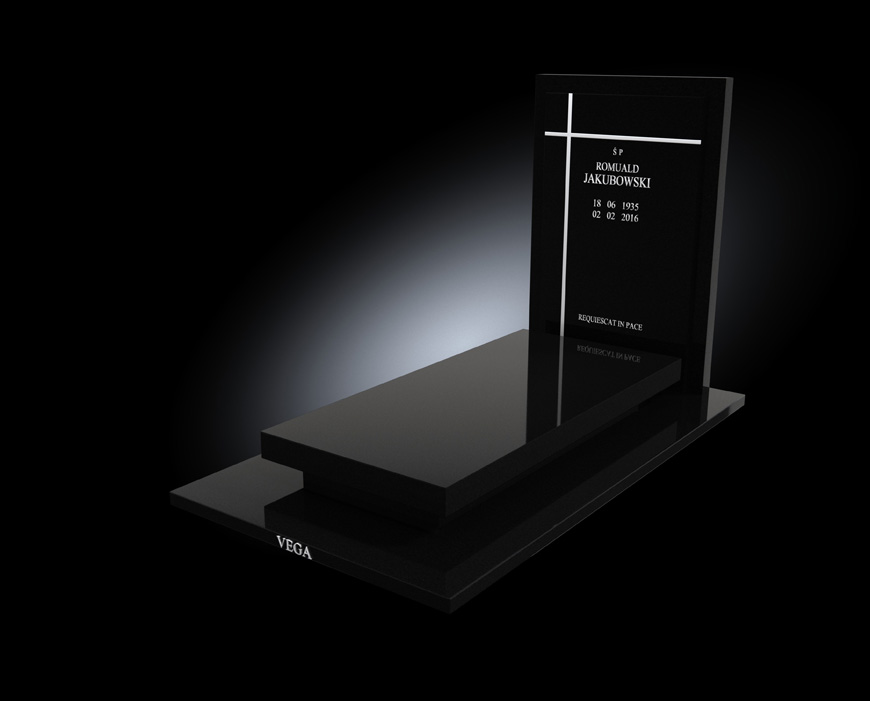 Kolekcja - Nagrobki nowoczesne / model 016