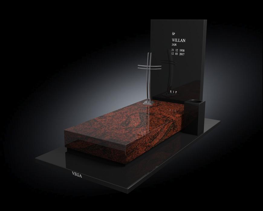 Kolekcja - Nagrobki nowoczesne / model 002