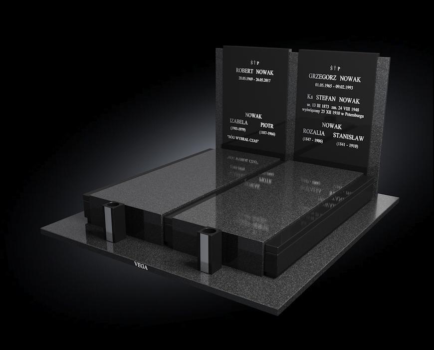 Kolekcja – Nagrobki nowoczesne / model 201