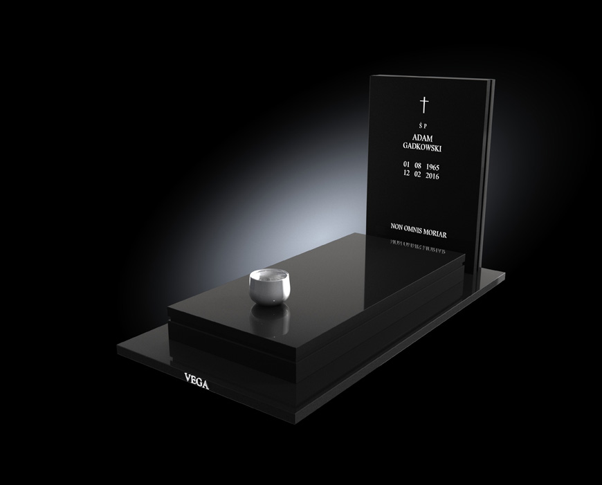 Kolekcja - Nagrobki nowoczesne / model 017