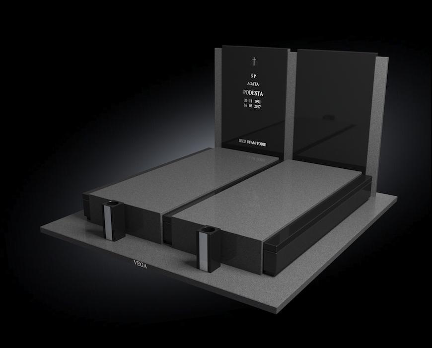 Kolekcja – Nagrobki nowoczesne / model 202
