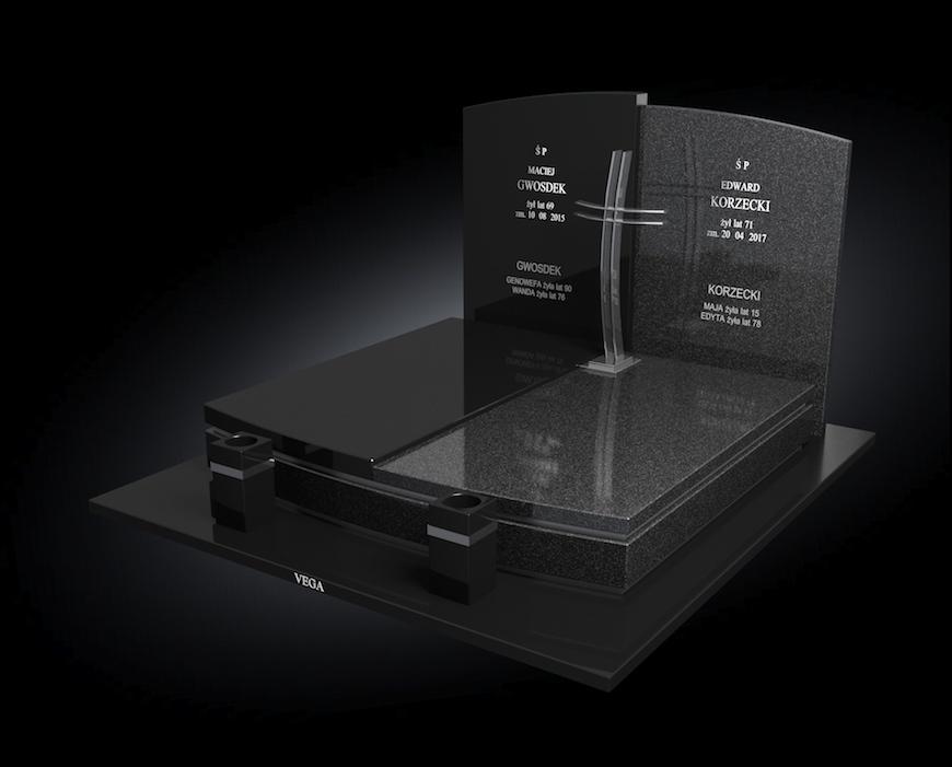 Kolekcja – Nagrobki nowoczesne / model 204