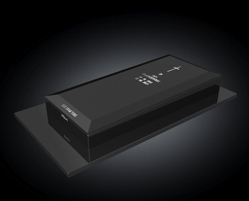 Kolekcja - Nagrobki nowoczesne / model 081