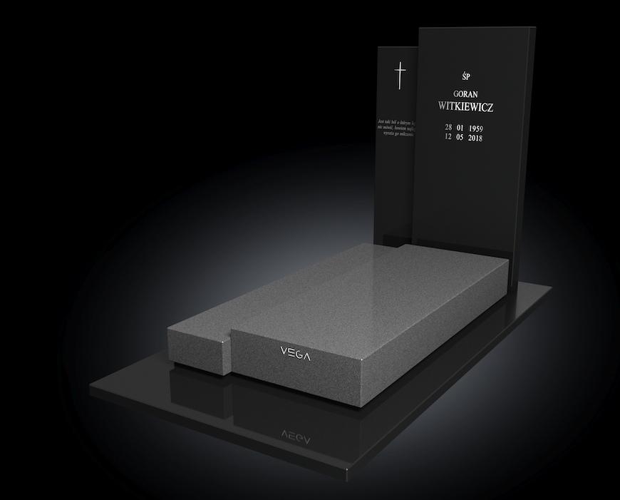 Kolekcja – Nagrobki nowoczesne / model 084