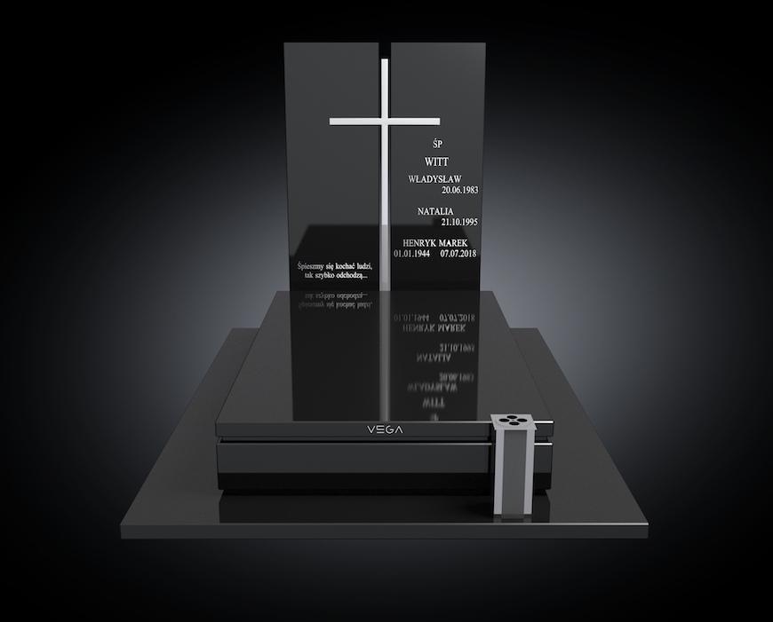 Kolekcja – Nagrobki nowoczesne / model 082
