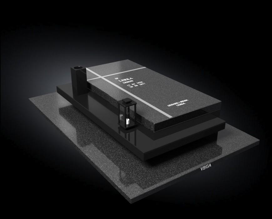 Kolekcja – Nagrobki nowoczesne / model 038