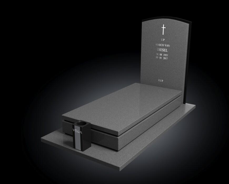 Kolekcja - Nagrobki nowoczesne / model 003