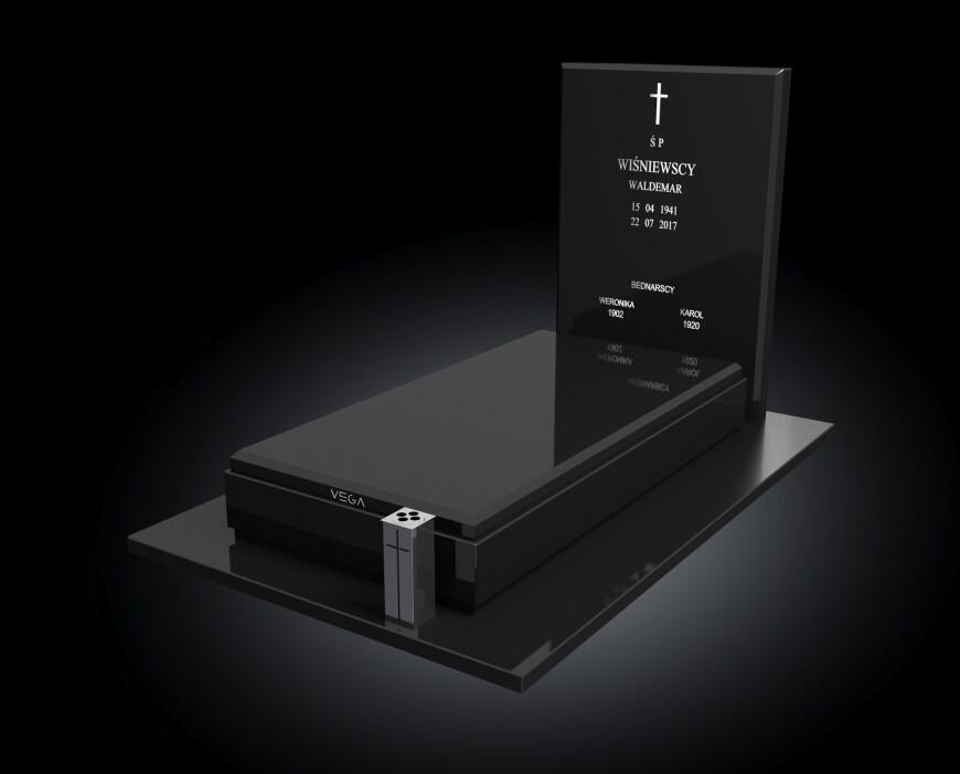 Kolekcja - Nagrobki nowoczesne / model 004