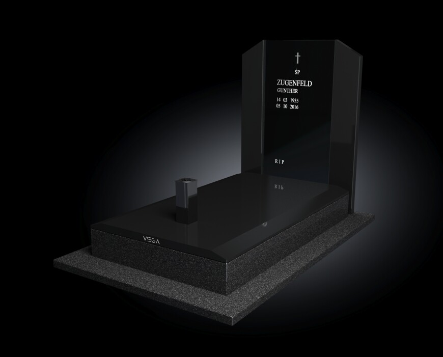 Kolekcja - Nagrobki nowoczesne / model 007