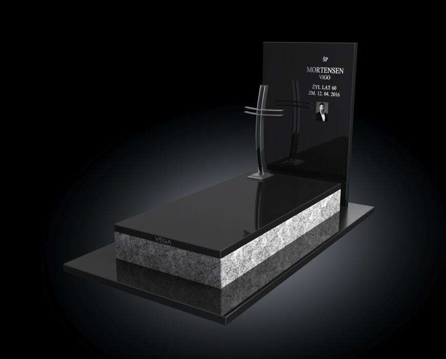 Kolekcja - Nagrobki nowoczesne / model 008
