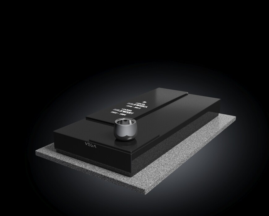 Kolekcja - Nagrobki nowoczesne / model 011