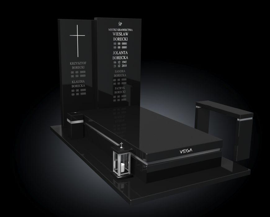 Kolekcja – Nagrobki nowoczesne / model 041
