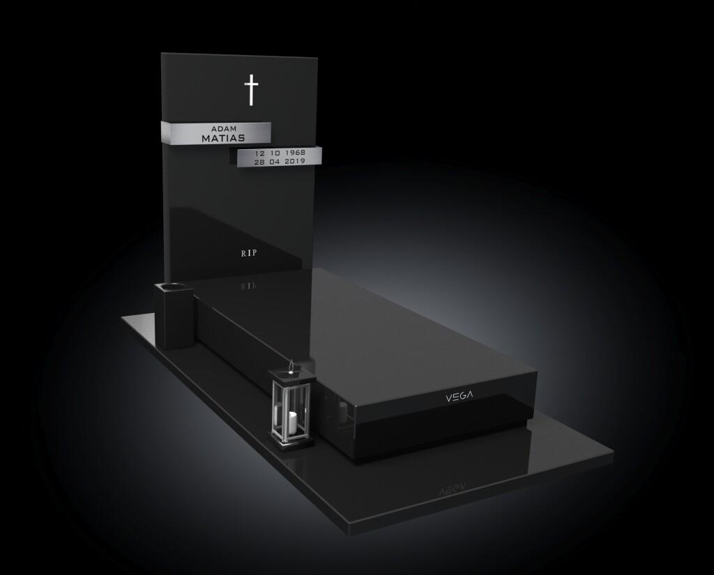 Kolekcja – Nagrobki nowoczesne / model 055