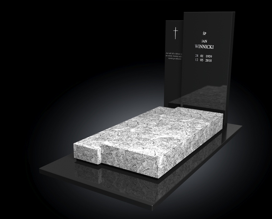 Kolekcja – Nagrobki nowoczesne / model 074