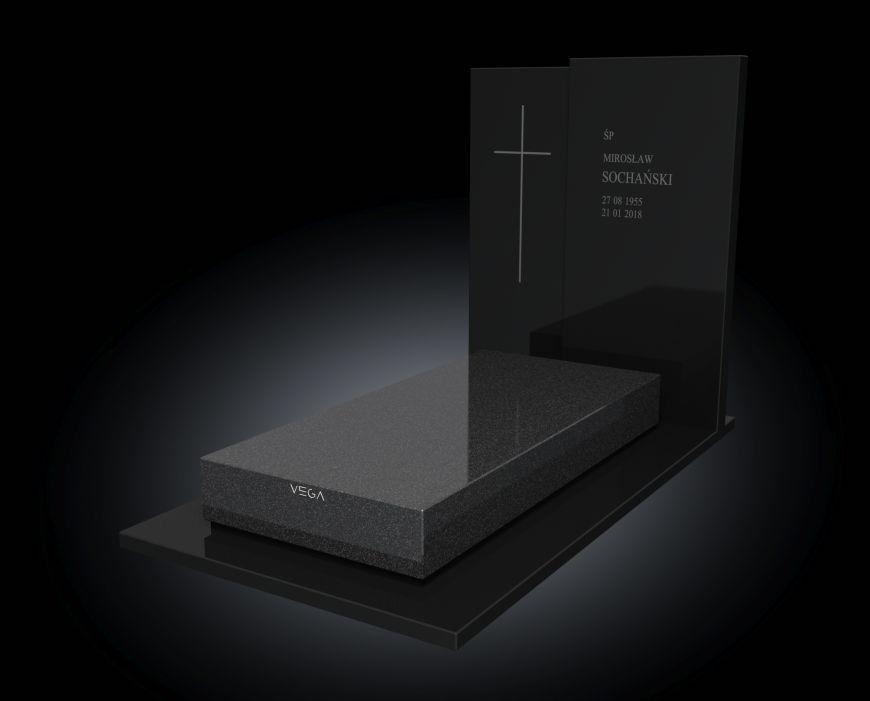 Kolekcja – Nagrobki nowoczesne / model 075