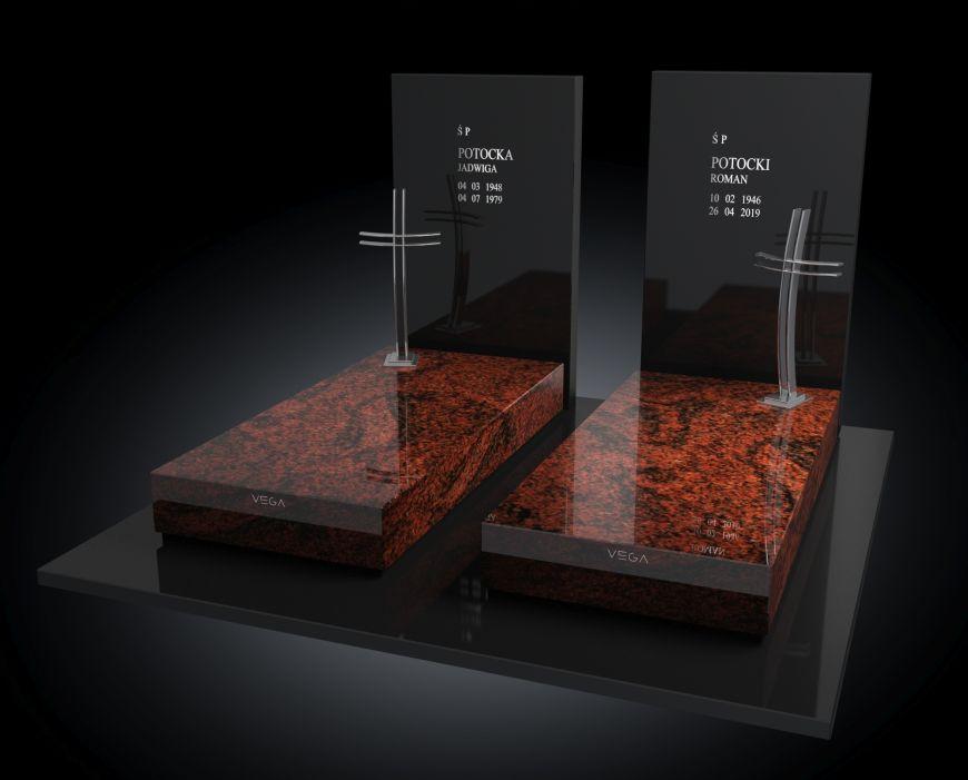 Kolekcja – Nagrobki nowoczesne / model 209