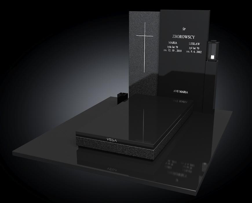 Kolekcja – Nagrobki nowoczesne / model 114